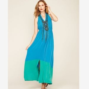 Offers welcome!! Anthropologie Color Block Maxi